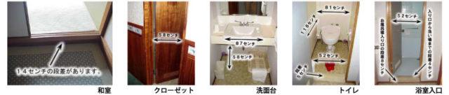 客室の設備